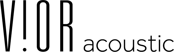 Akustikleuchte VIOR acoustic Logo