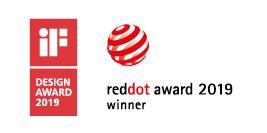 VIOR Leuchte von Ribag wurde mit dem Design Award und reddot award ausgezeichnet.
